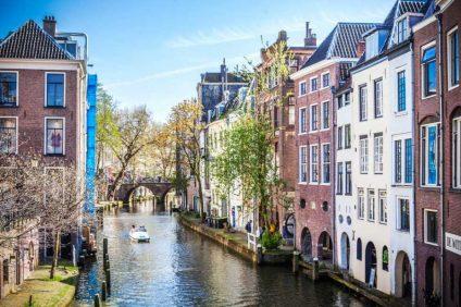 Utrecht è una cittadina universitaria, molto allegra e vivace