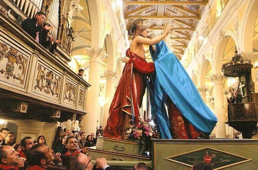 """Nella Domenica di Pasqua viene celebrata la Festa della Madonna """"Vasa Vasa"""""""