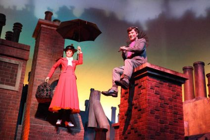 una mary poppins italiana a londra