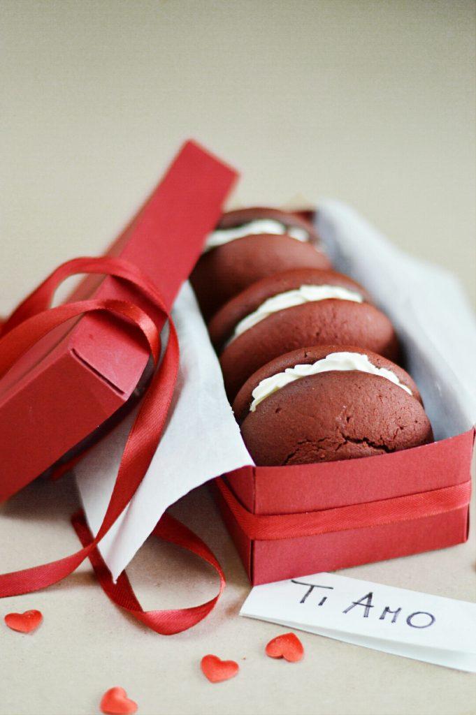 whoopie red velvet deliziosi