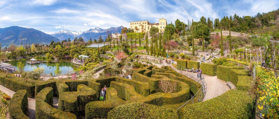 Giardini di Castel Trauttmansdorff di Merano