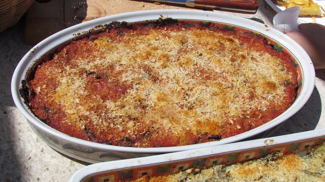 informiamo la pasta alla parmigiana quasi pronta