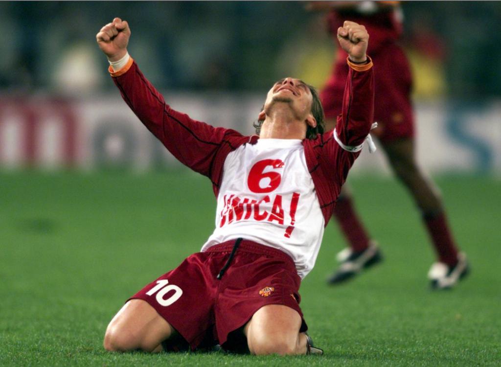 La carriera di Francesco Totti un giocatore straordinario