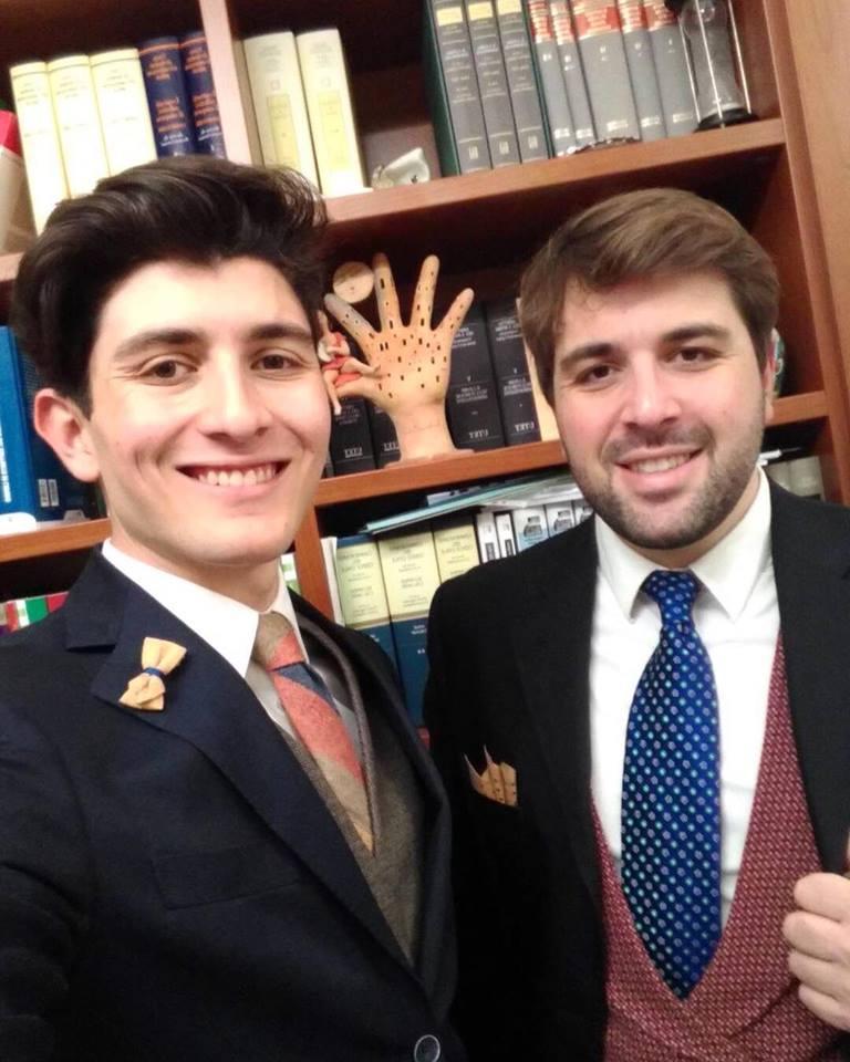 Marco e Davide Bellocco sono due fratelli di 28 e 19 anni.