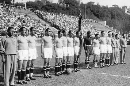 L'Italia campione del mondo nel 1934