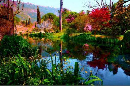 Ninfa è una vera e propria oasi di pace al confine tra Norma e Sermoneta