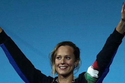 Federica Pellegrini vince l'oro mondiale sui 200sl