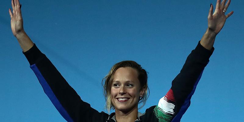Federica Pellegrini vince l'oro mondiale sui 200sl. Una leggenda italiana