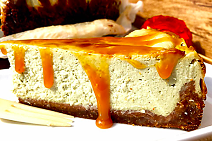 crostata di ricotta al pistacchio