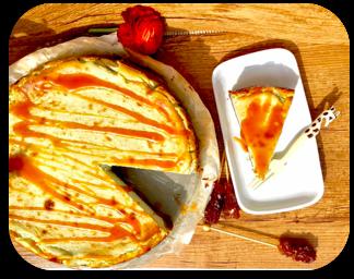 crostata di ricotta e pistacchio