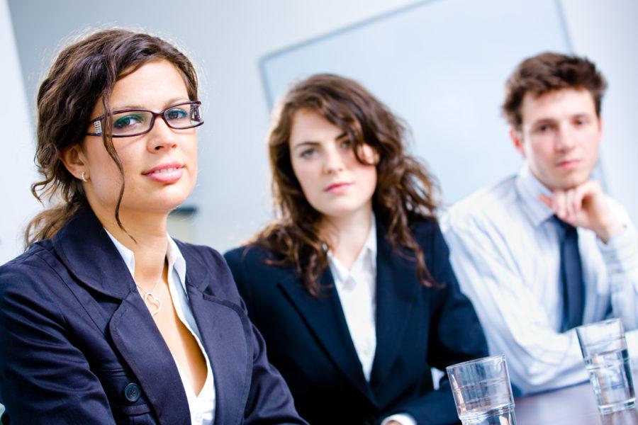 Chi può dare una mano ad un'aspirante imprenditrice meglio di una professionista già affermata in azienda?