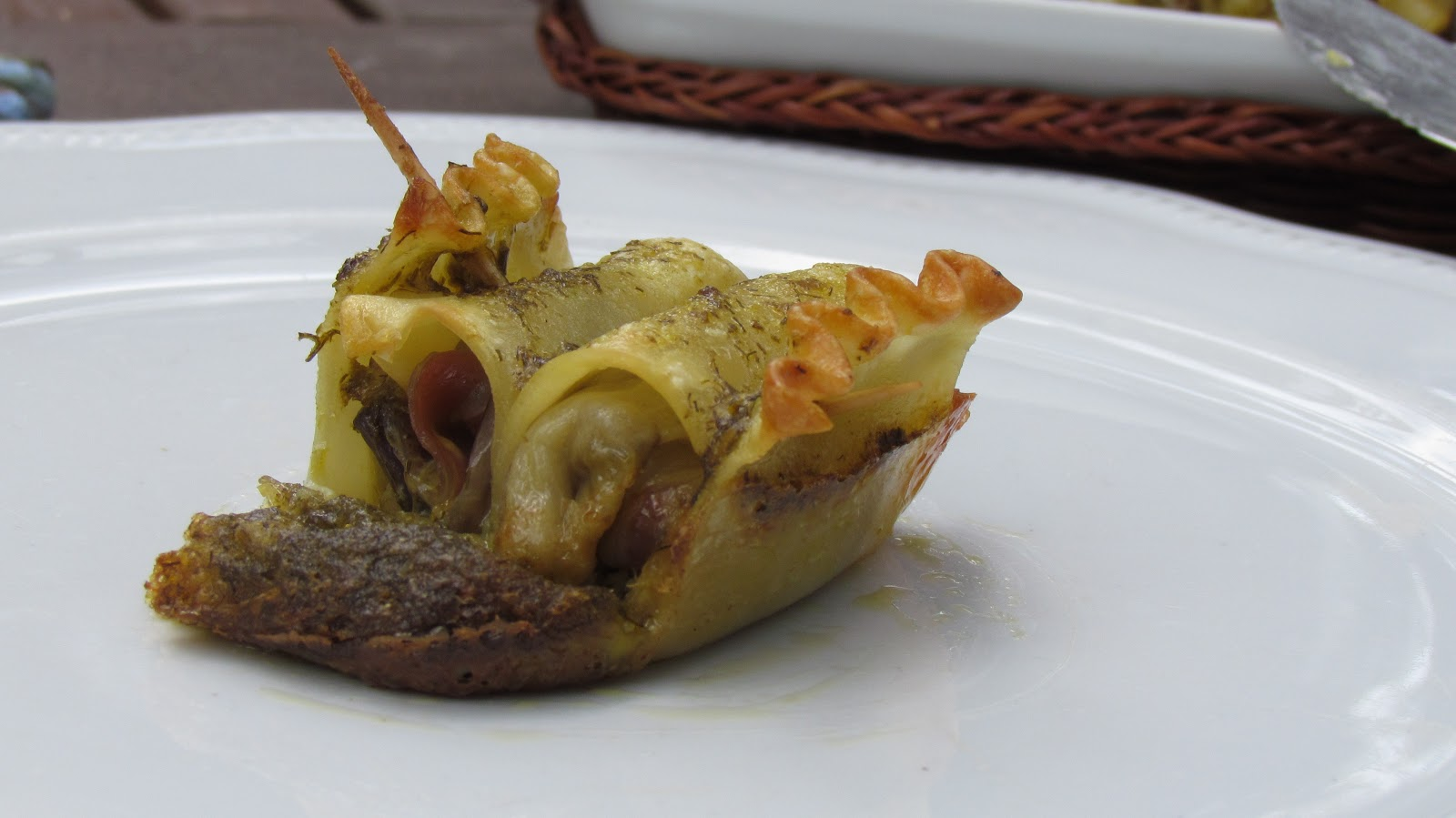 la lasagna arrotolata