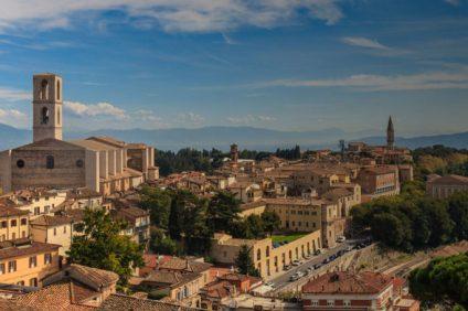 Perugia: città dell'arte, della cultura e del cioccolato