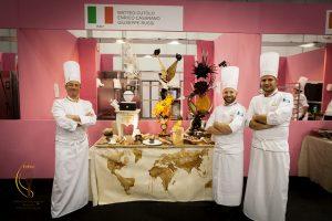 Le sculture dei pasticceri italiani, vincitori mondiali