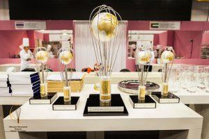 I trofei del Mondiale di pasticceria