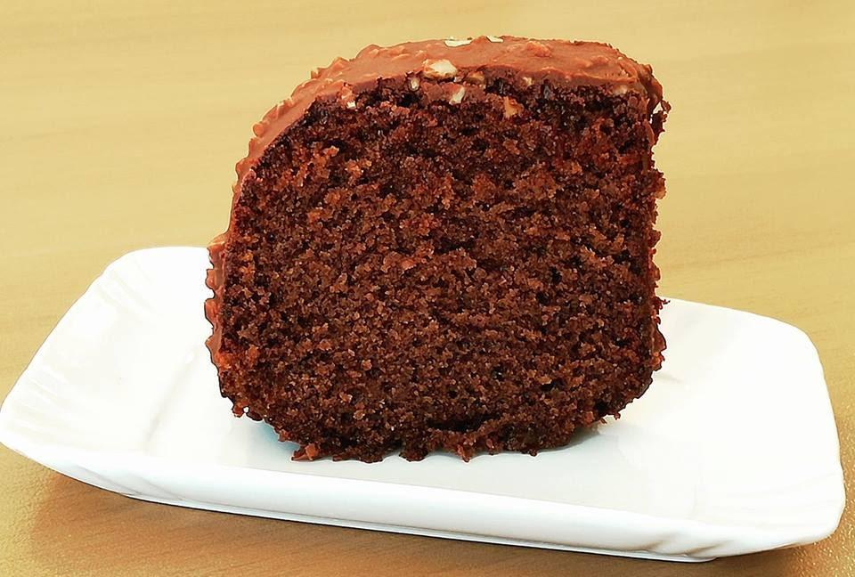 foto di profilo del cake glassato tagliato