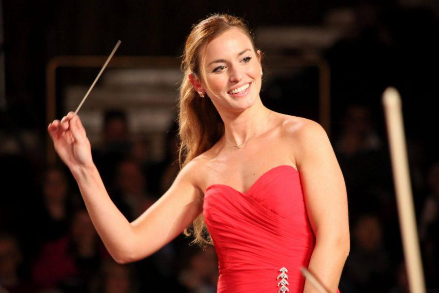Beatrice, 27 anni, direttrice d'orchestra e diplomata al Conservatorio Verdi di Milano.