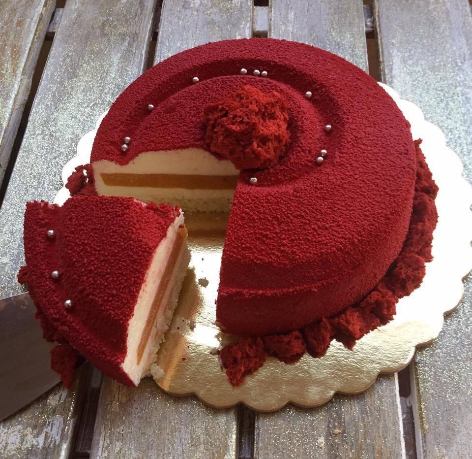 fetta della torta vortice