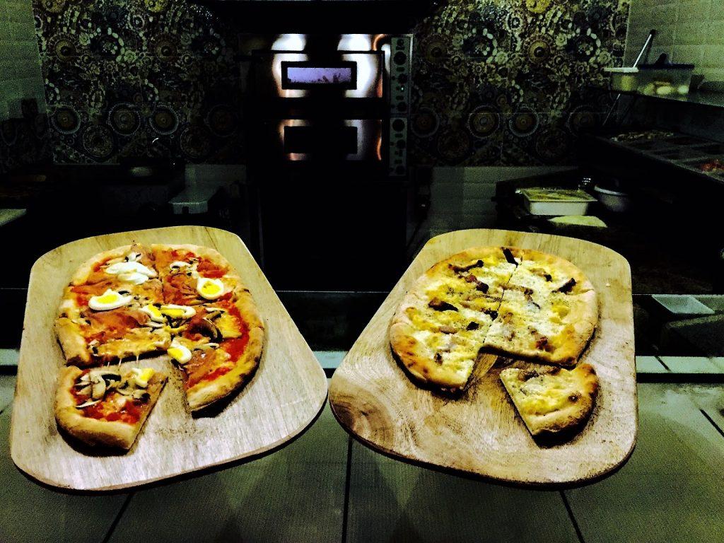 Una pizza, secondo i tanti clienti, spettacolare
