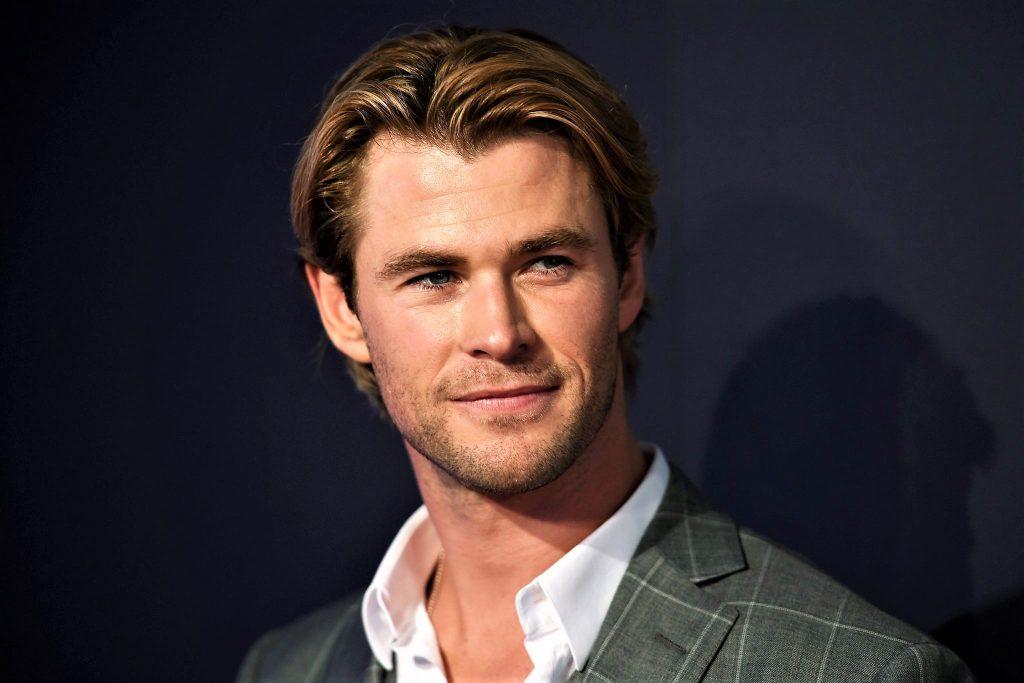 L'attore Chris Hemsworth ospite alla Trattoria Zero Sei