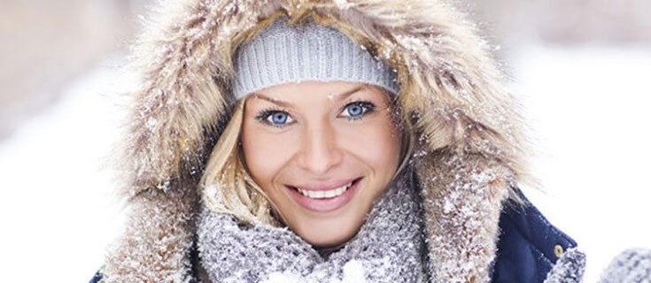 Le temperature rigide hanno un forte impatto sulle zone più esposte del nostro corpo che vanno difese da irritazioni e screpolature