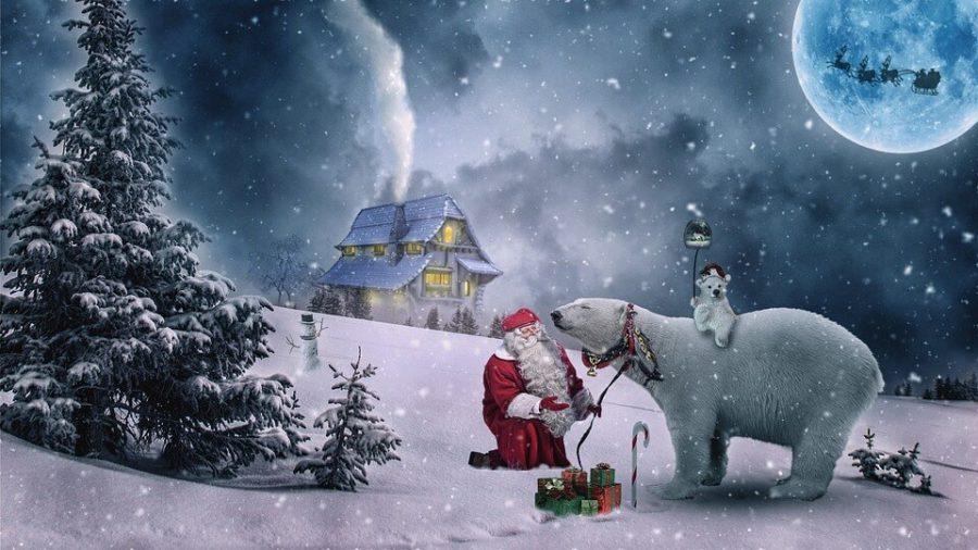 Sì, Babbo Natale esiste.. la tradizione non muore morirà mai.