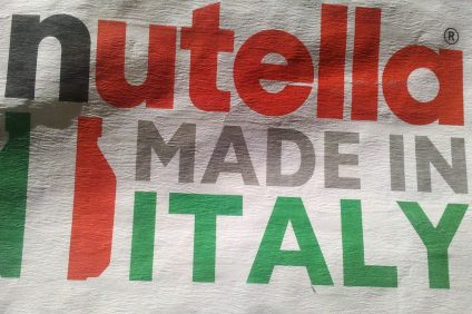 Nutella made in Italy