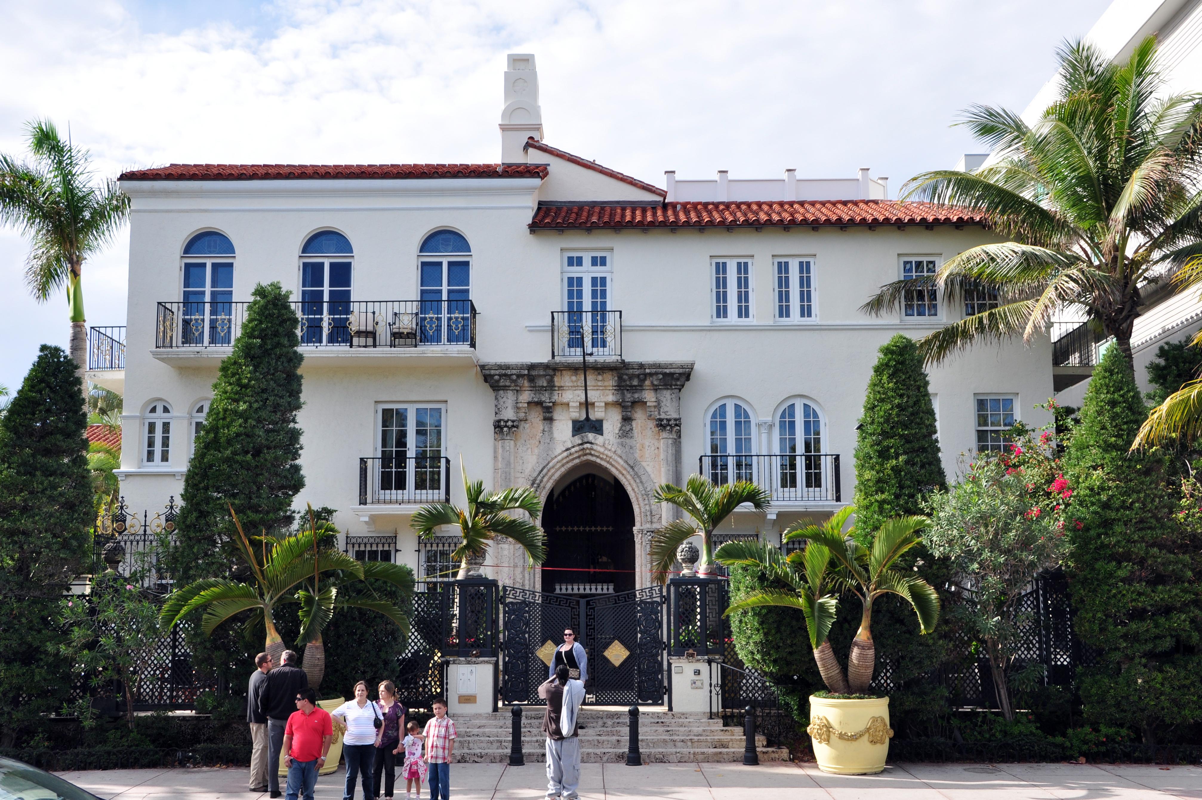 Casa Casuarina, la dimora di Gianni Versace, dove fu commesso il delitto