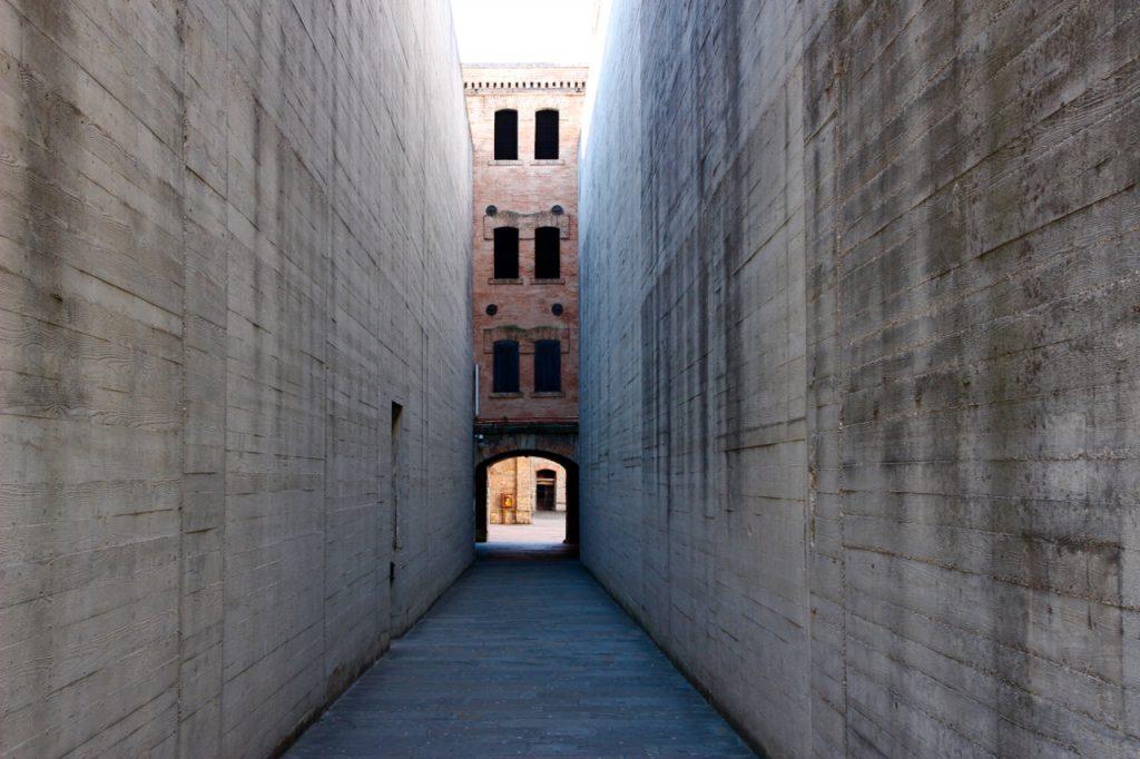 Il tunnel di Ingresso della Risiera