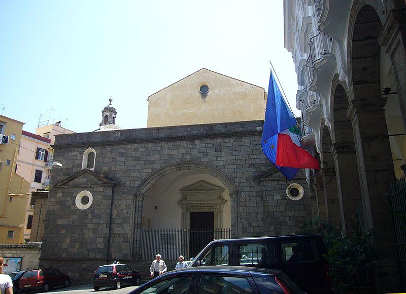 Facciata della chiesa di Sant'Anna dei Lombardi