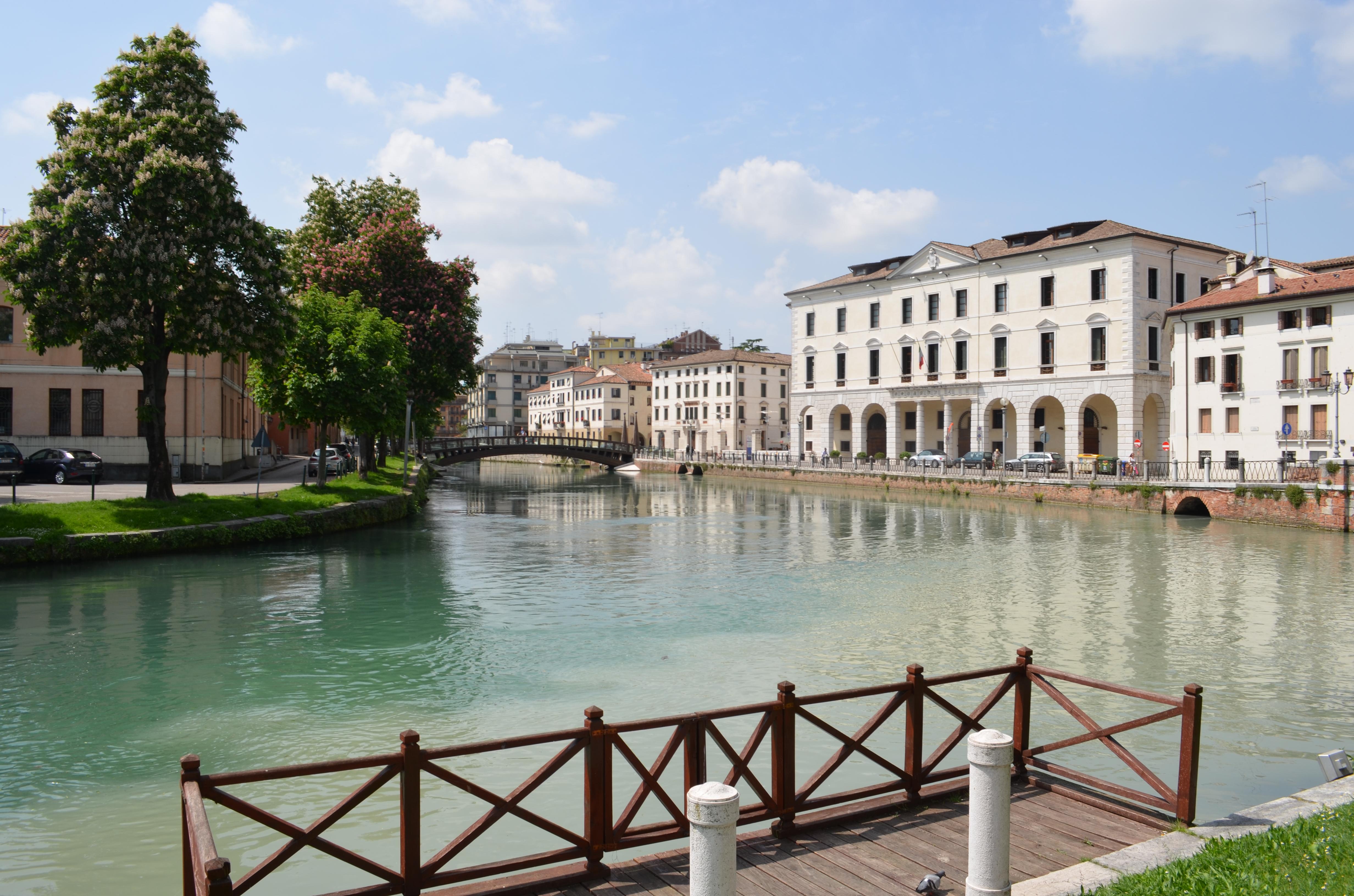 Scorcio della città di Treviso