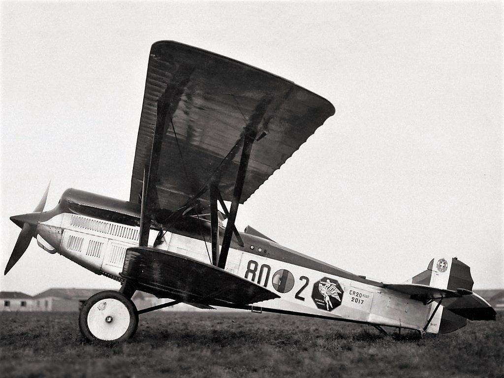 l'aereo utilizzato dalla squadriglia folle