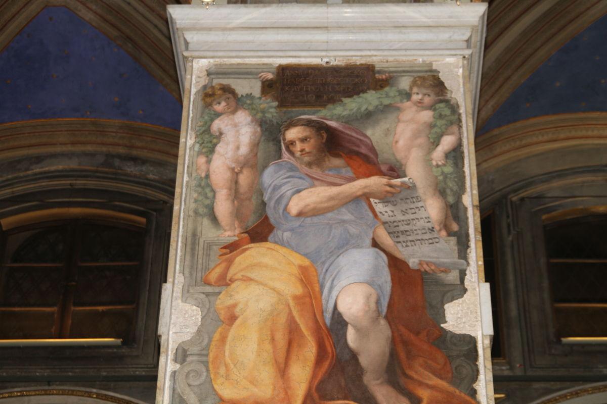 Il profeta Isaia, di Raffaello Sanzio