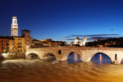 Tramonto Verona