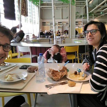 Italiani che vivono a Eindhoven: Barbara, Ertil e il loro bambino