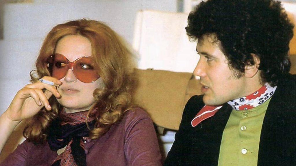 Mina con Lucio Battisti