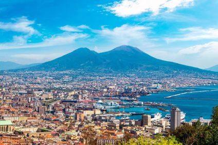 Paesaggio di Napoli