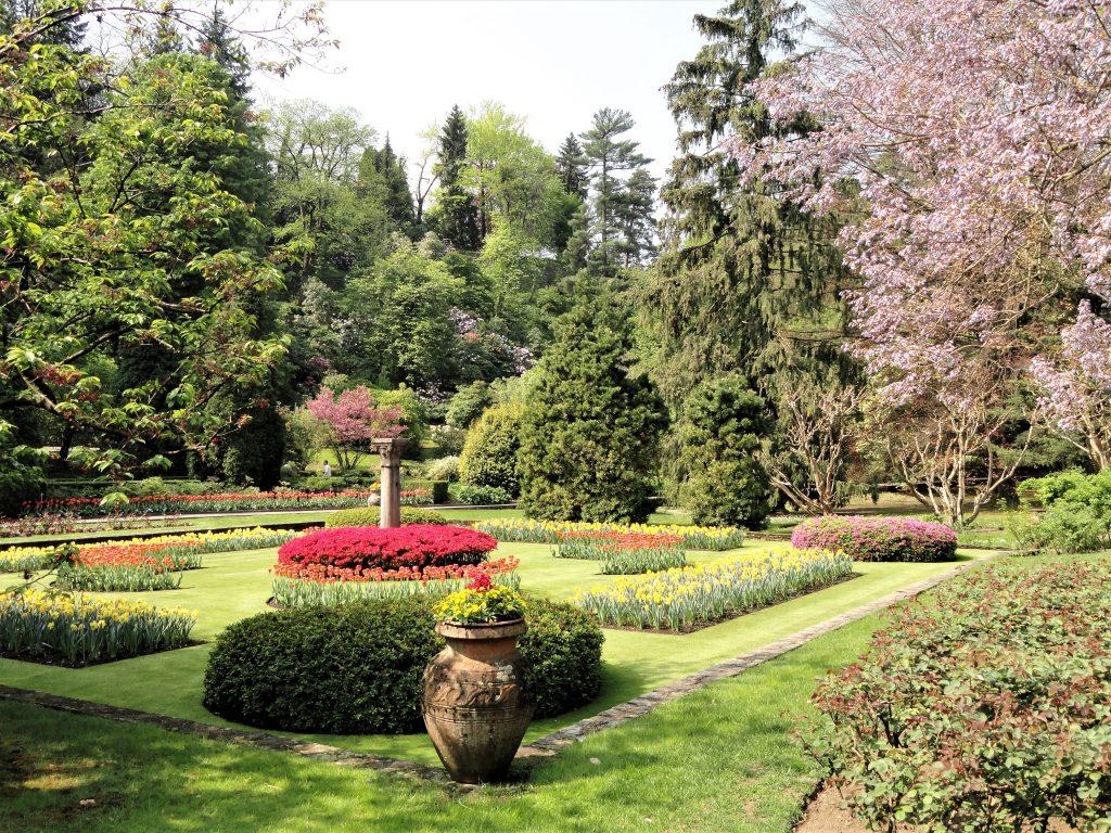 Scorcio del giardino della Villa Taranto