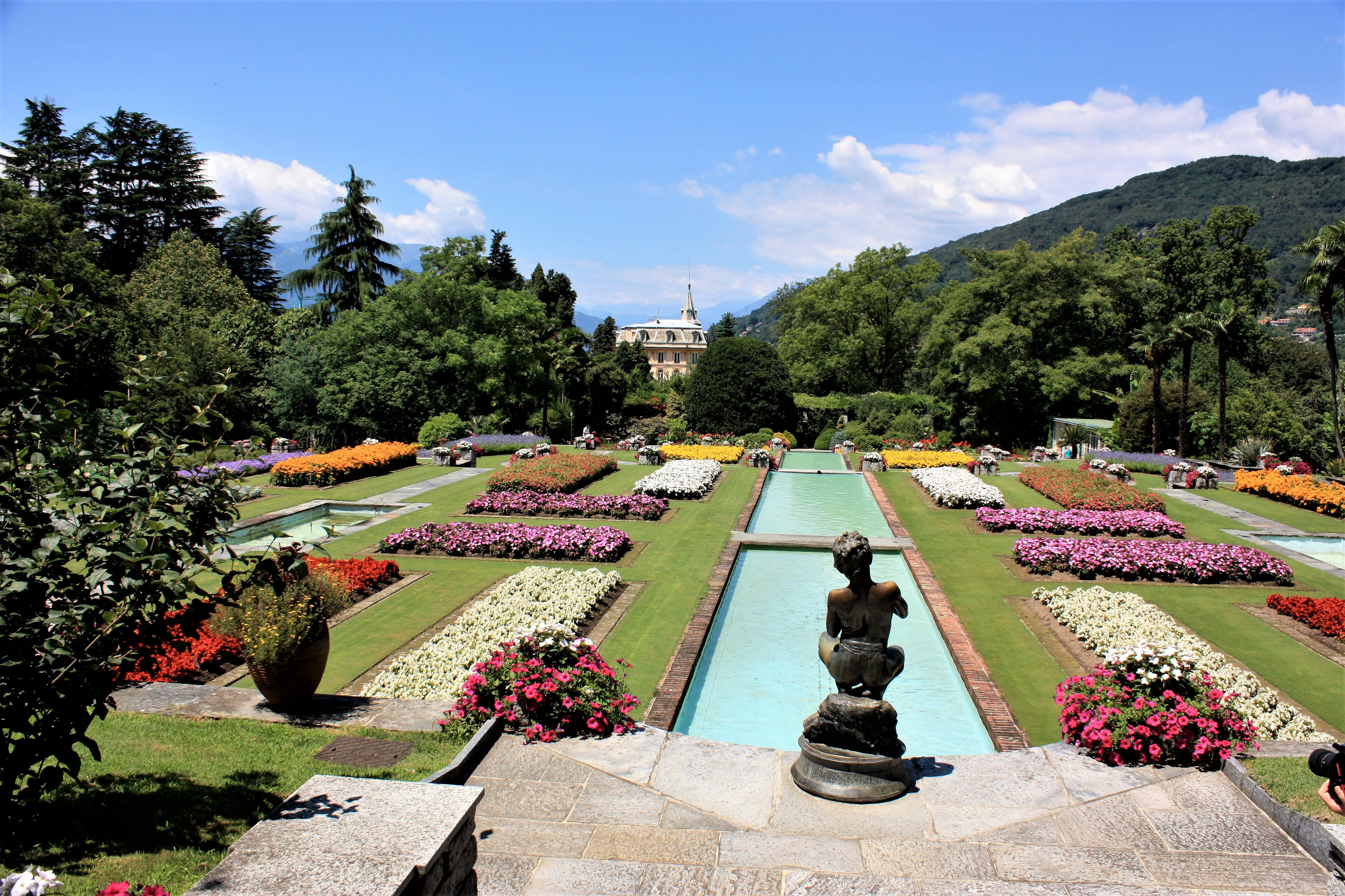 Uno scatto del giardino di Villa Taranto a Verbania