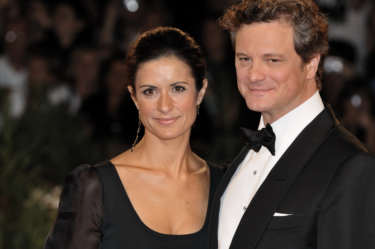 Colin Firth e sua moglie Livia - attori di Hollywood