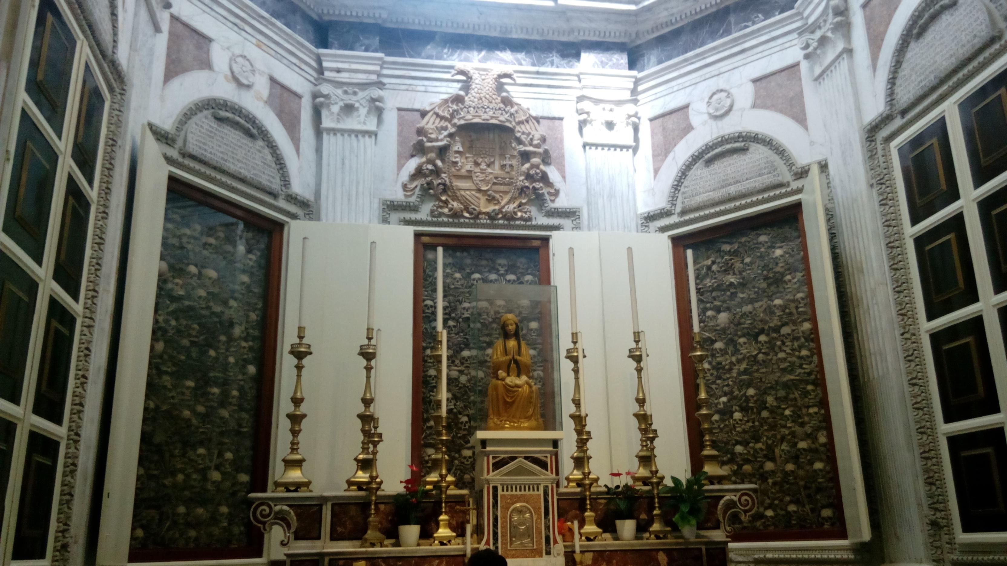 La cappella dei Martiri (foto di Marcella Calascibetta)