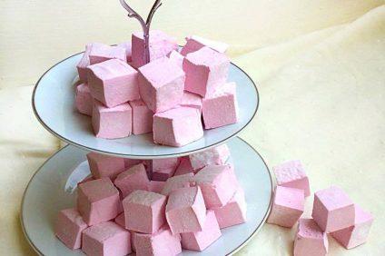 Marshmallow ai frutti di bosco