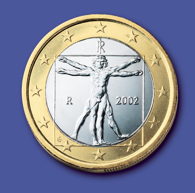 Moneta 1 euro italiana