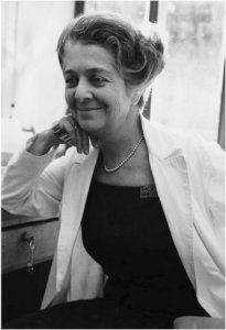 Una giovane Rita Levi Montalcini
