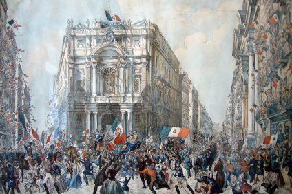 Spedizione dei Mille a Napoli