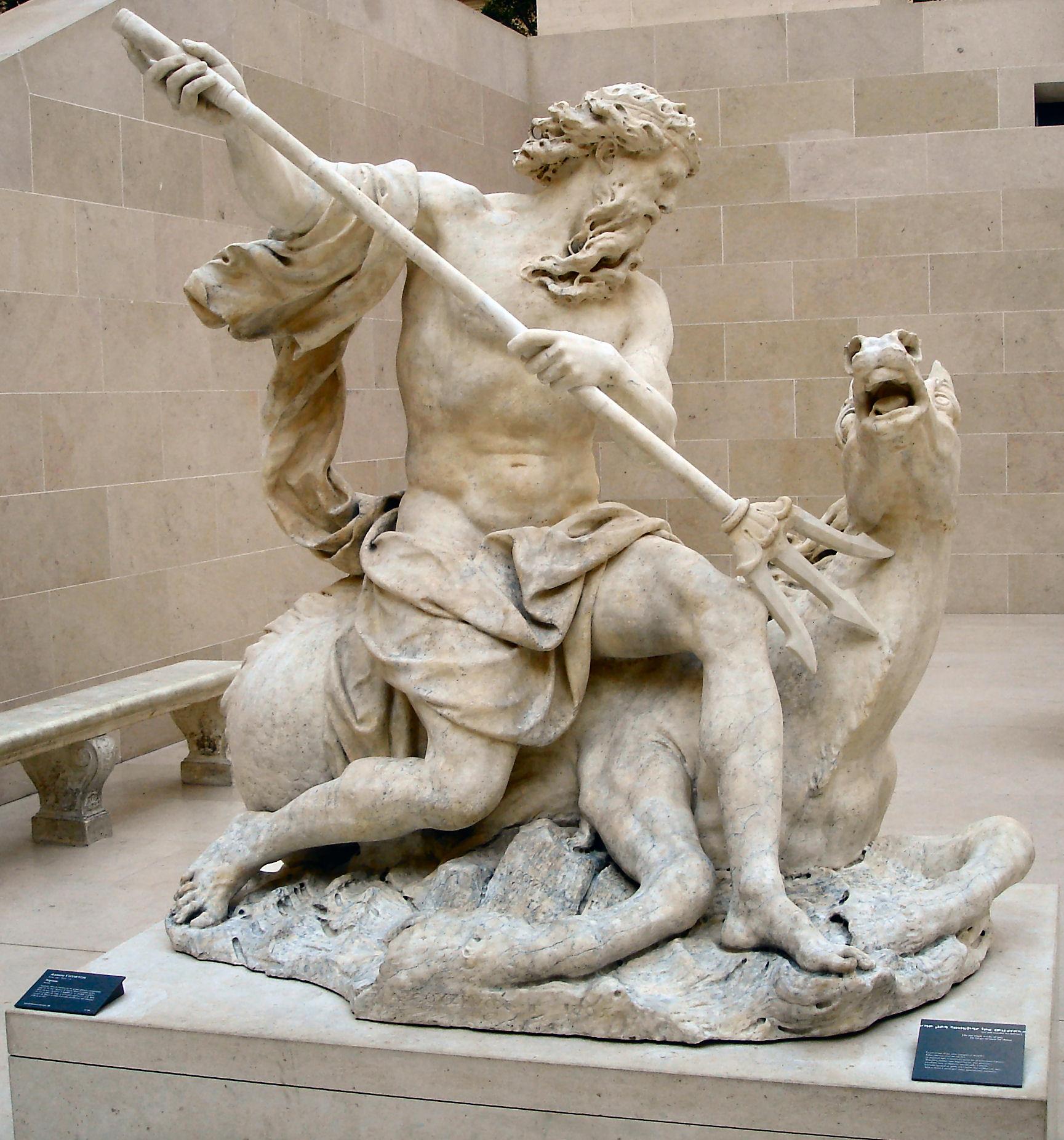 statua di poseidone