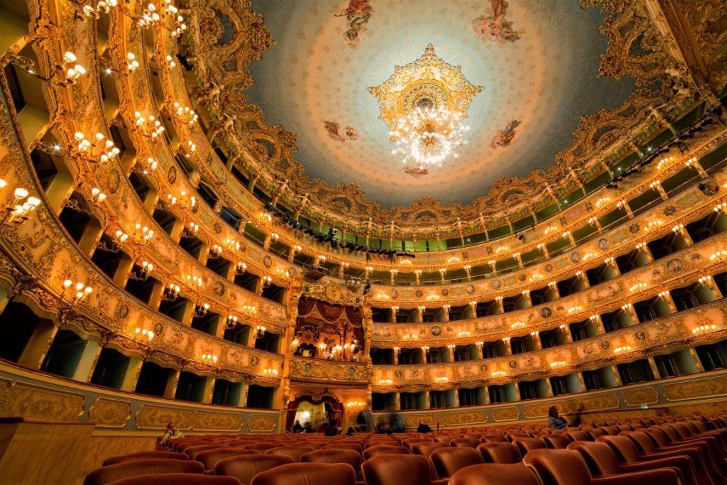 Teatro La Fenice all'interno