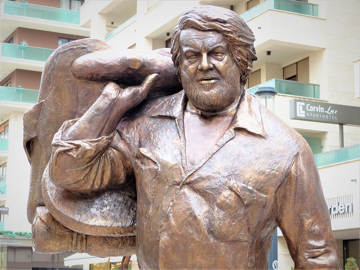 Bud Spencer statua