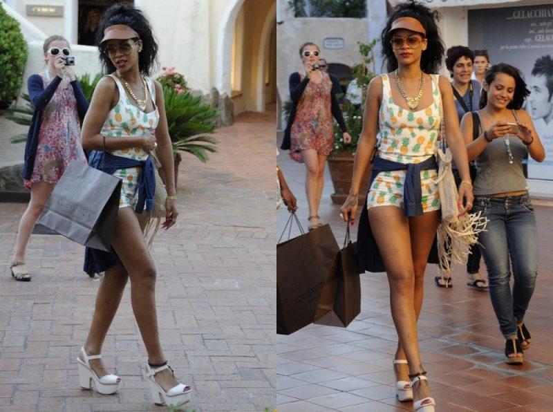 Rihanna a Porto Cervo - Fonte: https://www.ladyblitz.it/tag/porto-cervo/