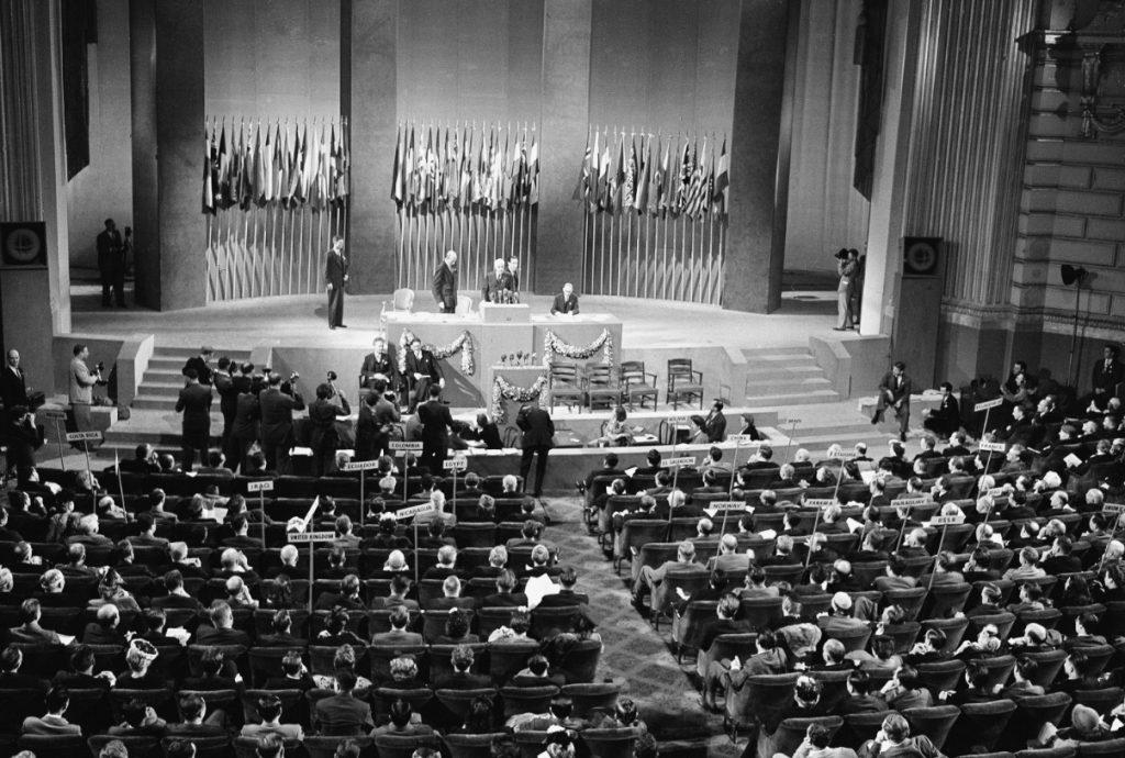 ONU - Conferenza per la formazione dell'Onu - San Francisco 26 giugno 1945
